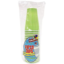 Lime Green Co-Ex Plastic Cup 18 oz
