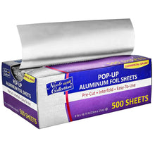 "Nicole Collection 9""x10.75"" Aluminum Foil Sheets"