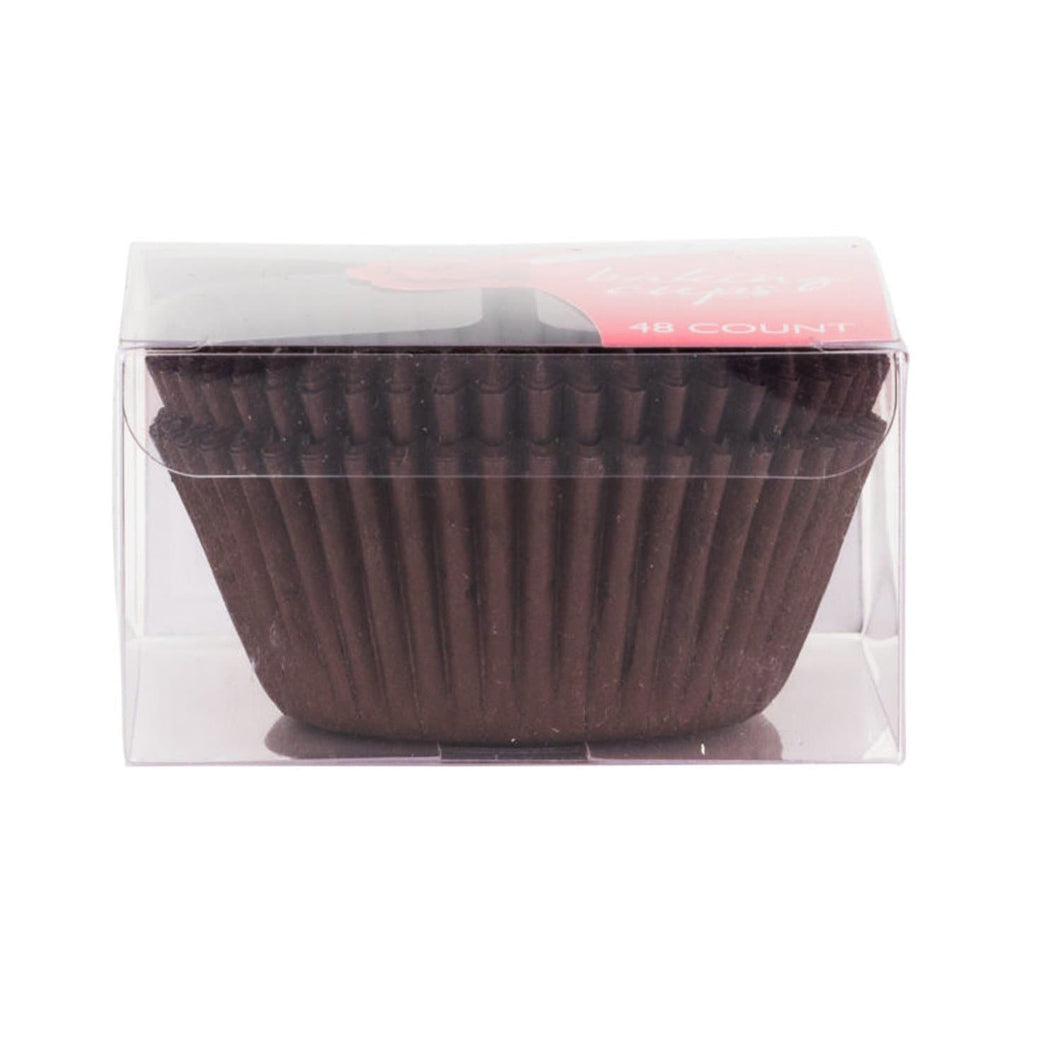 Simcha Collection Brown Baking Cups 48CT