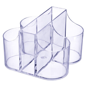 Cutlery Caddy Organizer 5 Compartment Silverware Organizer & Napkin Holder
