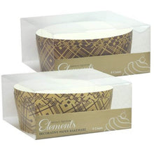 "Premium Quality Paper Brown Tan Baking Pan 6.5""x2.5"""