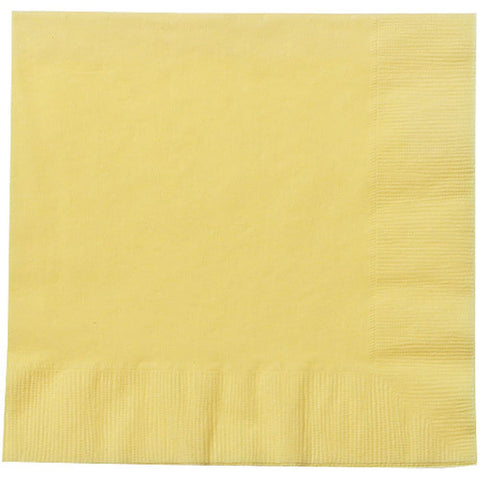 Yellow Lunch Napkins 20ct