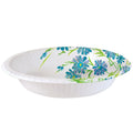 Nicole Home Collection Everyday Paper Bowl Blue Floral 20 oz