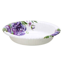 Nicole Home Collection Design Round Coated Bowls for Cold Hot Pack of 20 oz 24Ct