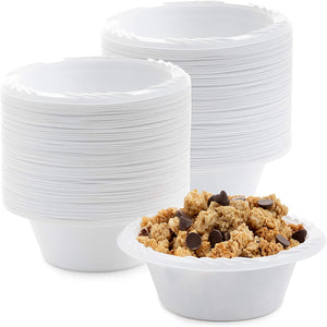 White Lightweight Soup Bowls 12 oz