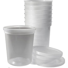 Extra Strong Quality Plastic Deli Container with Lids 48 oz 5CT