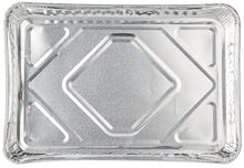 "Disposable Aluminum 1/2 Size baking tray/ Cookie Sheets 16"" x 11"" x 1.25"" 10PK"