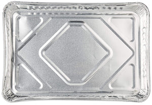 "Disposable Aluminum Half Size Baking Tray Cookie Sheets 16"" x 11"" x 1.25"""