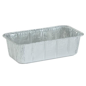 "Aluminum 2Lb Loaf Pan 8.5"" X 4.5"" X 2.5"" 10PK Nicole Collection"