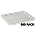 Disposable ALUMINUM LID FOR 5 LB LOAF BAKING PAN 12 11/16