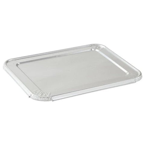 "ALUMINUM LID FOR 5 LB LOAF PAN 12 11/16"" L x 6 9/16"" W x 1/2"" H 10PK"