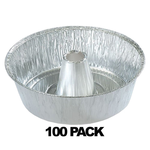 "Aluminum 10"" Angel Tube Pan 100PK"