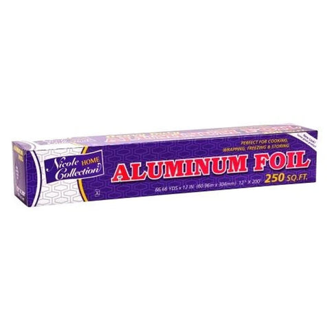 "Nicole Home Collection Aluminum Foil 12"" 250Ft"