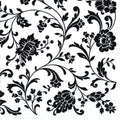 Arab White/Black Lunch Napkins Decorline