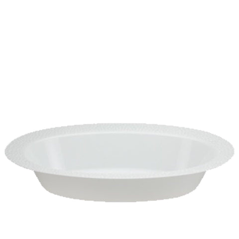 Lillian Tablesettings Pebbled Oval Bowl Pearl 15 oz