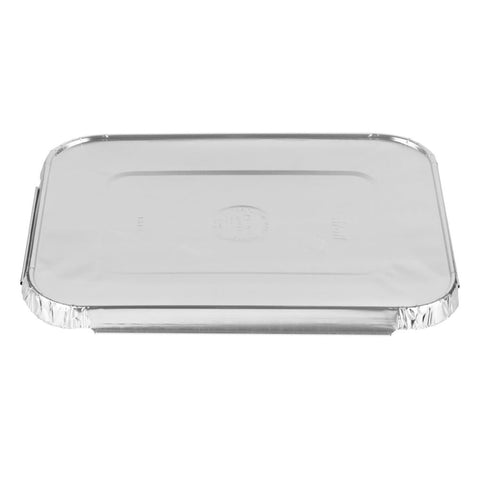 ALUMINUM LID FOR 5 LB OBLONG PANS 10PK