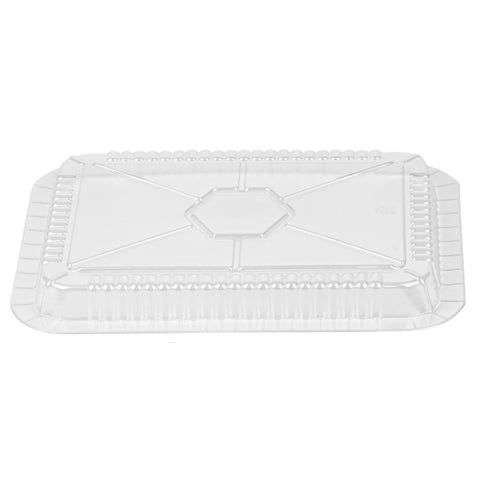 PLASTIC LID FOR 5 LB OBLONG PANS 10PK