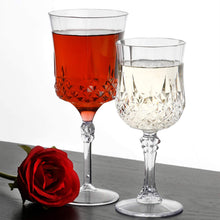 Simcha Collection Crystal Like French Goblets Clear 4Ct