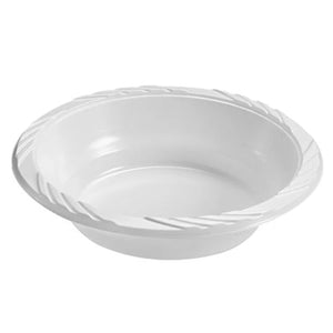 White Lightweight dessert bowls 5 oz