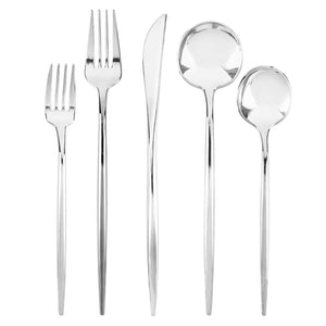 NOVELTY FLATWARE DINNER FORKS SILVER