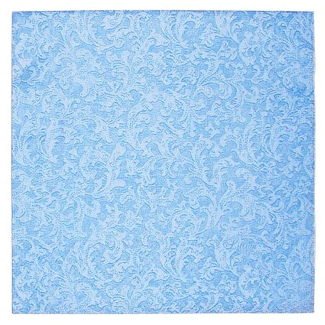 Blue Texture Beverage Napkins Lillian