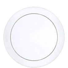 "Buffet Heavy Weight Plastic Plate Clear 9"" Hanna K Signature"