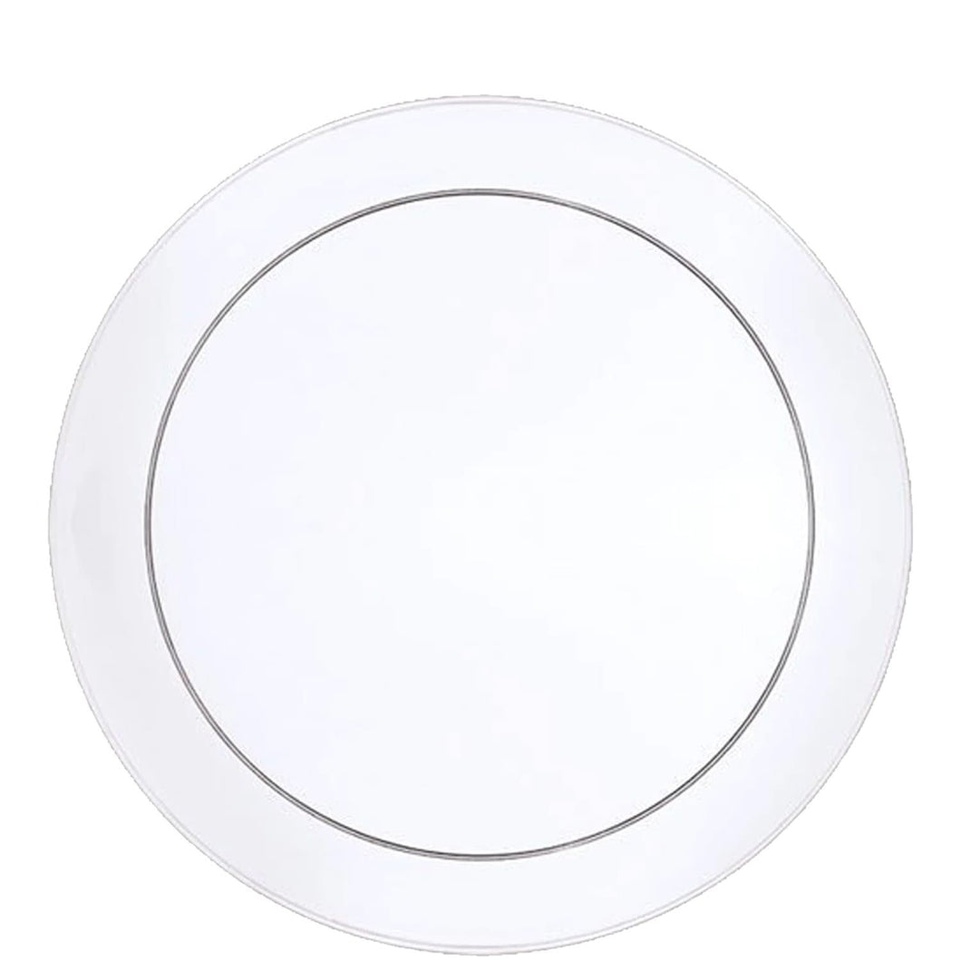 Buffet Heavy Weight Plastic Plate Clear 9