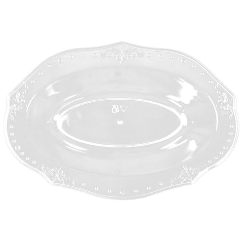 "Antique Collection Oval Dessert Bowl Clear 5"" 20Ct - OnlyOneStopShop"