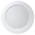 Charger Hammered Design Plates White 13