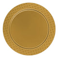 Charger Diamond Design Plates Gold 13