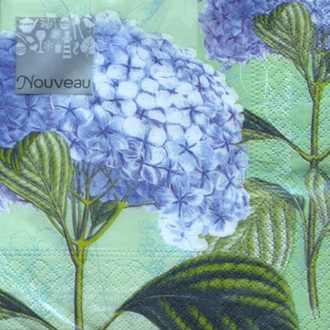Hydrangea Lunch Napkins 20ct