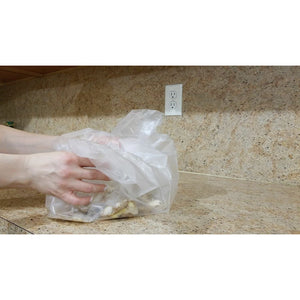 "Disposable Plastic Counter Liners For Easy cleanup 26""X26"""