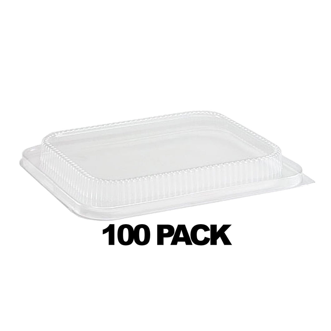 Disposable Plastic Dome Lid for 1/2 Size Foil Pan 100PK