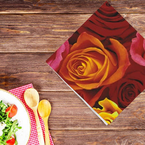 Ecuador Roses Lunch Napkins 20 Ct