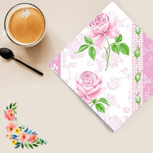 Flowers #33 Disposable Lunch Paper Napkins