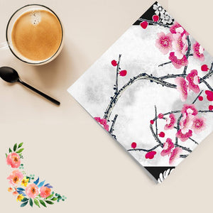 Flowers #34 Disposable Lunch Paper Napkins