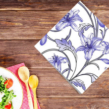 Flowers #35 Disposable Lunch Paper Napkins