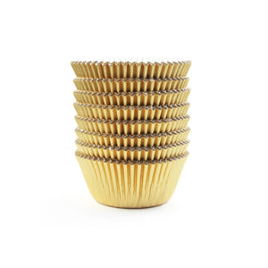 Simcha Collection Gold Mini Foil Baking Cups 40Ct