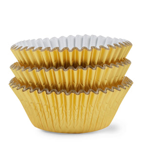 Simcha Gold Baking Cups Standard Size 72Ct