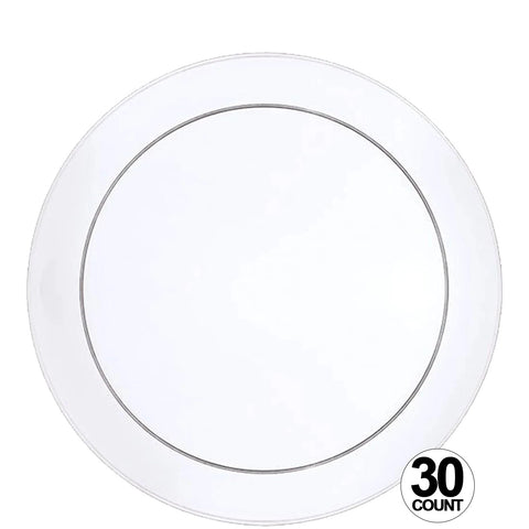 "Buffet Heavy Weight Plastic Plate Clear 9"" - OnlyOneStopShop"
