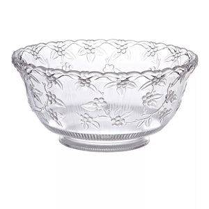 8 Quart Clear Premium Heavy Weight Punch Bowl