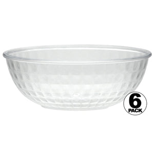 12 oz Clear Crystal Plastic Bowl