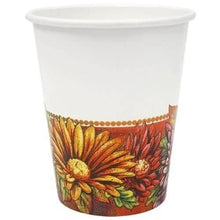 Floral Art Premium Heavyweight Paper Cups 9oz