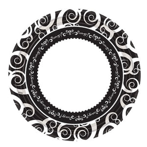 "Hanna K. Signature Collection Classic Medley Paper Plate 10.25"" Hanna K"