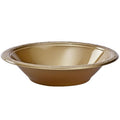 Hanna K. Signature Plastic Bowl Gold 15 oz Hanna K Signature