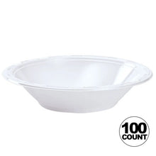 Hanna K. Signature heavy weight Plastic Bowl White 15 oz Hanna K Signature