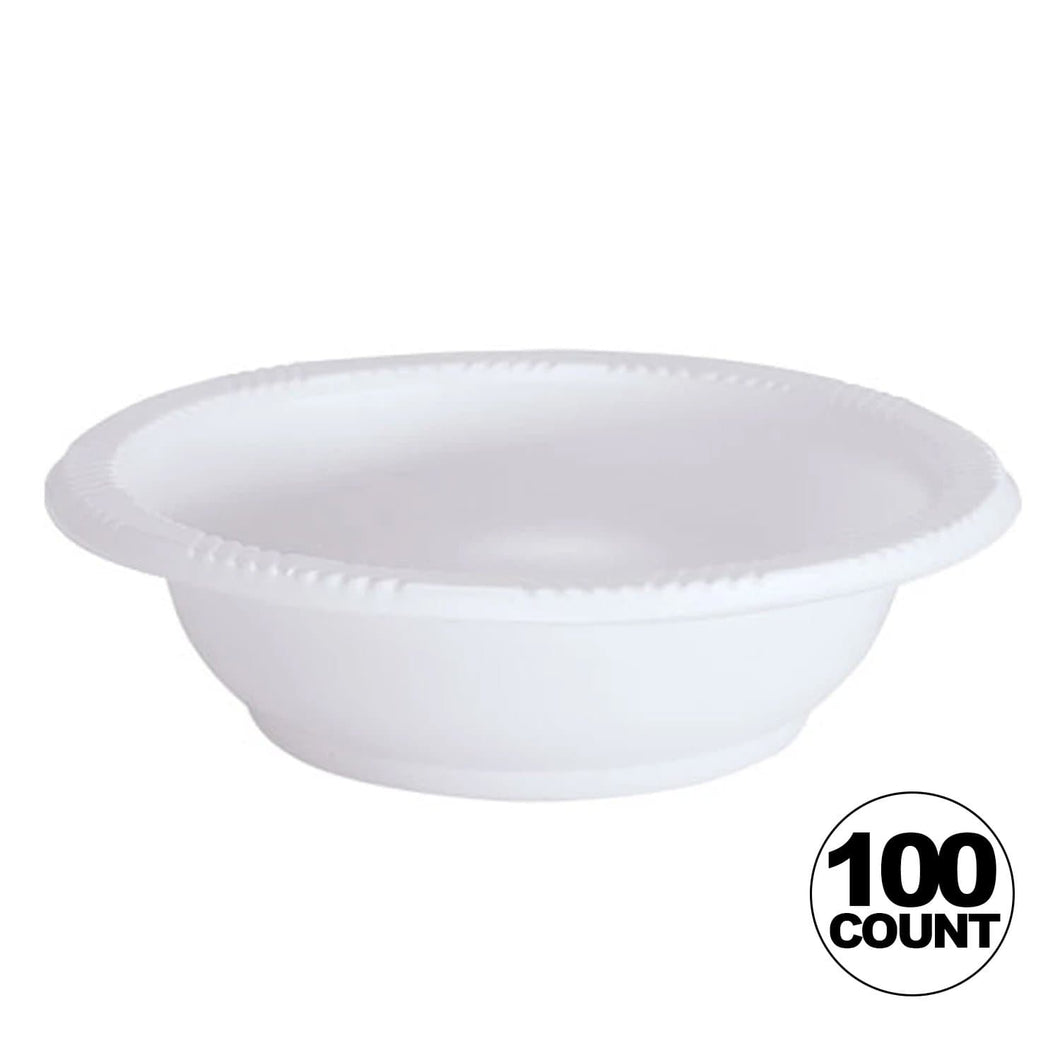 Hanna K. Signature heavy weight Plastic Bowl White 5 oz Hanna K