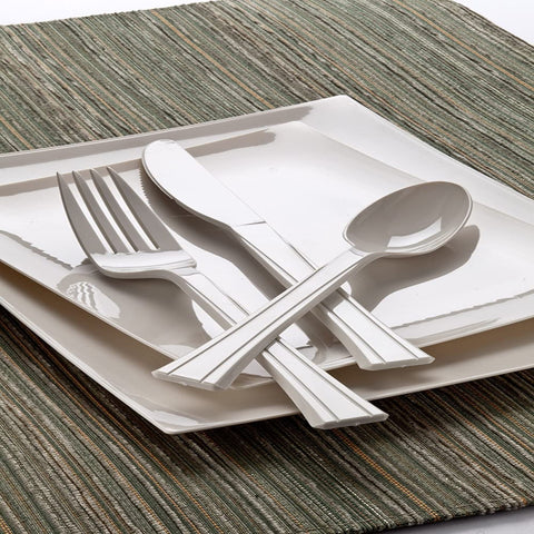 Lillian Tablesettings Premium Plastic Fork Sahara 48Ct