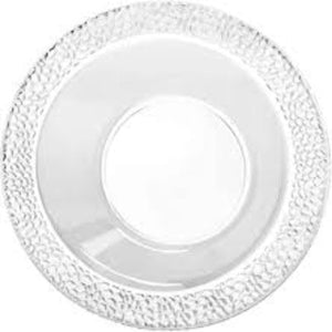 Lillian Tablesettings Pebbled Plastic Bowl Clear 5 oz