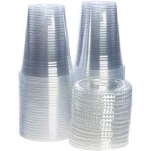 Crystal Ultra Clear PET Plastic Cups 16 oz